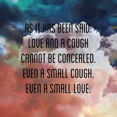 Anne sexton on love and coughs