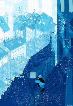 Программный снег (As3) | Флеш-анимация и дизайн