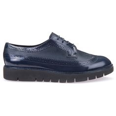 Geox Blenda (4.695 RUB) ❤ liked on Polyvore featuring shoes, loafers, moccasins & lace ups, navy, laced up shoes, moccasin shoes, mocassin shoes, geox footwear and lace up shoes