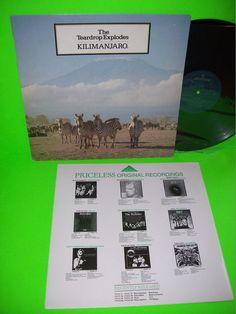 The Teardrop Explodes – Kilimanjaro Vintage Vinyl LP NM When I Dream Treason  #TeardropExplodes #JulianCope #PostPunk #NewWave