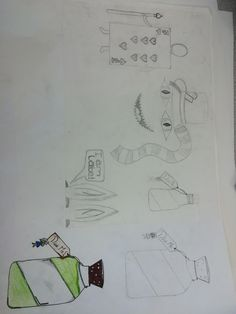 Ideas For Drawing Inside Book (Alice In Wonderland)