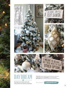 Winter 2015 Catalogue by Urban Barn Urban Barn, Happy Birthday Jesus, Make It Simple, Catalog, Christmas Tree, Cozy, Seasons, Holiday Decor, Winter