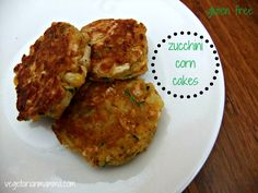 Zucchini Fritters are also known as zucchini corn cakes or pancakes. These gluten-free vegetable fritters make the perfect freezer meal recipe! Vegetable Recipes, Vegetarian Recipes, Cooking Recipes, Healthy Recipes, Freezer Cooking, Healthy Meals, Freezable Recipes, Free Recipes, Going Vegetarian