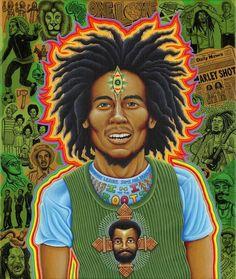 Bob Marley by Chris Dyer