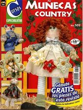 Fotografía Sewing Magazines, Primitive Crafts, Fabric Dolls, Rag Dolls, Crafts To Do, Teddy Bear, Crafty, Quilts, Christmas Ornaments