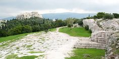 The Pnyx: where Pericles stood. Best Sites, Athens, Monument Valley, Greece, Pictures, Travel, Civilization, Statues, Wanderlust
