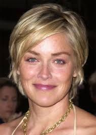 sharon stone's hair today