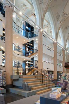 Bookstore Waanders in the former Broerenkerk (church) in Zwolle, The netherlands