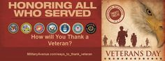 101 Ways to Thank a Veteran  http://www.militaryavenue.com/Content.aspx?Name=ways_to_thank_veteran