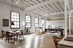 Loft Apartments New York | Industrial Loft Design
