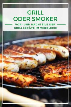 Grill oder Smoker: Was ist besser? Barbecue, Sausage, Grilling, Pork, Meat, Chicken, Marcel, Grill Party, Food Food