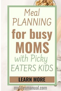 Meal Planning for Busy Moms - Eating Healthy on a Budget. Quickly prepare healthy meals even on a tight budget without feeling overwhelmed. Plan out your meals for a week or even beyond. Have healthy lunches for your picky-eaters kids. Be able to reduce your food budget without eating junk-type of food. Be organized and have all the ingredients and stocks that you need in your pantry. Get control over what your family eats. Meal Planning ebook + printables. #mealplanning #mealprep #mealplan