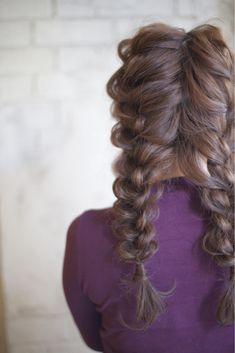 編み編みおさげアレンジ♫ Pretty Hairstyles, Wedding Hairstyles, Cute Haircuts, Hair Arrange, Aesthetic Hair, French Braid, Gorgeous Hair, Pink Hair, Hair Inspo