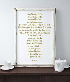 Psalm 100 Christian