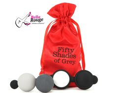 """FSOG: Beyond Arousal Kegel Balls:  """"He withdraws his fingers briefly and with tender care inserts the balls one at a time, pushing them deep within me. I feel giddy, beyond aroused as the weight of the balls move inside me."""" ZAR 750.00 #Kegel #Balls #FSOG"""