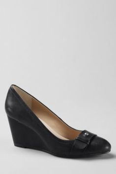 5f290f14af01 Women s Ellery Wedge Shoes from Lands  End Lands End