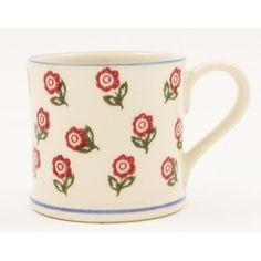 Brixton Pottery Scattered Rose Mug - £11.50