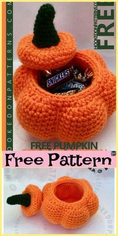 Marvelous Image of Pumpkin Crochet Pattern Pumpkin Crochet Pattern 10 Adorable Crochet Pumpkins Free Patterns Fall Crochet Crochet Pumpkin Pattern, Halloween Crochet Patterns, Easy Crochet Patterns, Baby Knitting Patterns, Crochet Designs, Hat Patterns, Crochet Fall, Holiday Crochet, Cute Crochet