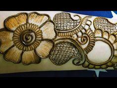 Beautiful & Stylish Arabic Mehndi Design || Simple & Easy Arabic Mehndi Designs - YouTube Mehandi Designs Easy, Latest Arabic Mehndi Designs, Full Hand Mehndi Designs, Mehndi Designs For Girls, Mehndi Designs For Beginners, Dulhan Mehndi Designs, Mehndi Design Photos, Mehndi Art Designs, Beautiful Mehndi Design