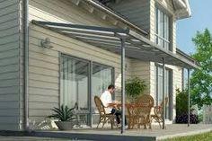 Cheap Sale Terrassenüberdachung 500 X 250 Cm Aluminium Mit Polycarbonat-platten 16mm Beautiful And Charming Garten & Terrasse