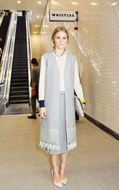 Olivia Palermo at Whistle Spring 2015 London Fashion Week show