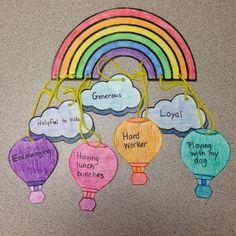 Self Esteem activity - Me Mobile Creative Elementary School Counselor