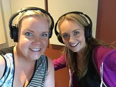 Amber on radio interview with Jody