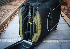 A purpose-built case makes travelling with a bike much, much easier, especially if you're planning to fly. Biknd have created a bike case that is simple to Bike Shipping, Cycling Gear, Golf Bags, Travelling, Purpose, Simple, Sports, Suitcases, Veil
