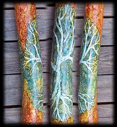 Didgeridoo, Tree of Life, Beautiful handmade instrument