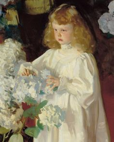 The ONE White Trim Color That Works Every Time - laurel home | John Singer Sargent - Helen Sears 1895 | perfect colors