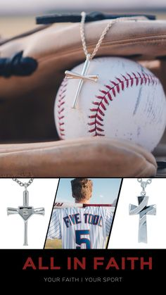 All In Faith Jewelry specializes in sports themed christian jewelry. Made for fans and athletes alike to demonstrate faith and love of sports. Baseball Quotes, Baseball Gifts, Baseball Season, Baseball Sister, Baseball Boyfriend, Baseball Jewelry, Softball Pictures, Sports Mom, Christian Jewelry