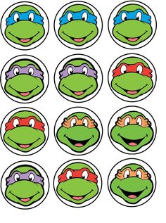 template for ninja turtle mask - Google Search
