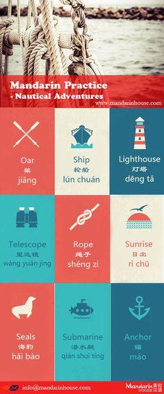 Nautical Adventures in Chinese.For more info please contact: bodi.li@mandarinhouse.cn The best Mandarin School in China.