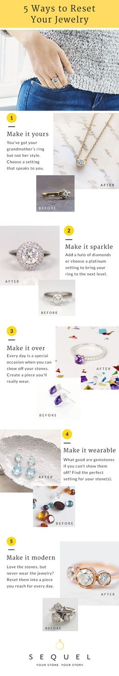 So many ways to make your jewelry shine like new. Request your free shipping kit to get started on creating jewelry you really love to wear. Learn more at sequel.gemvara.com