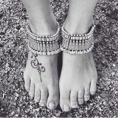 Jewelry | (X2) Boho Chic Anklet And Bracelet