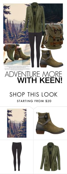 """""""So Fresh and So Keen: Contest Entry"""" by javorkozima ❤ liked on Polyvore featuring Keen Footwear, Maison Scotch, LE3NO and keen"""