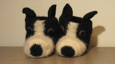 Border Collie-t�fler! str. 37-40. bestillingsvare!