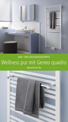 AuBergewohnlich Unser #Designheizkörper #Geneo #quadris Verwandelt Dein #Badezimmer In Eine  Perfekte Wohlfühloase.
