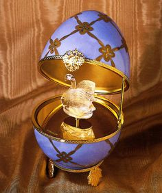 Faberge' Egg I love these as collectibles...My three most prize postions from my mother were stolen by a HOMEWRECKER! She not only slept with my husband but she stole things my mom gave me!  #Nowords