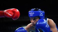 La boxeuse française Sarah Ourahmoune accède à la finale olympique de Rio chez les -51 kg