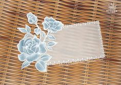parchment craft handmade pergamano -ROSE 蓝玫瑰 by 只小在, via Flickr