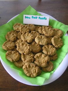Dino Print peanut butter cookies for Joaquin's party? @Jaime