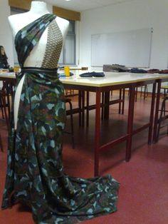 Vestido xD feito na aula