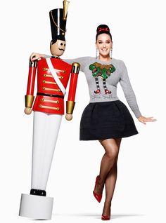 Katy Perry na campanha de Natal das lojas H&M! #KatyPerry #H&M #KatyPerryNaH&M #Natal #testeiEvoce