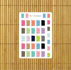 Traveler's Notebook Planner Stickers by MioCartaPesta