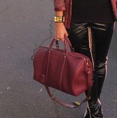 Calça Mixed e bolsa LV! Amo essa calça