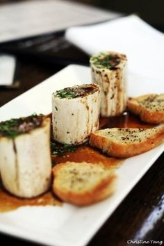 Bone Marrow from Bistro Jeanty in Yountville! It will change your life.