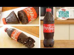 Oreo Cream Filled Chocolate Coca Cola Bottle