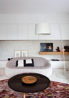 Les designers français et leur intérieur - , les créations contemporaines se marient à des créations plus classiques