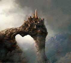 Fantastical castle
